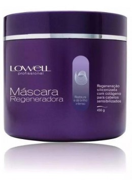 Brazilian Collagen Siliconized Regeneration Hair Treatment Mask 450g - Lowell Beautecombeleza.com