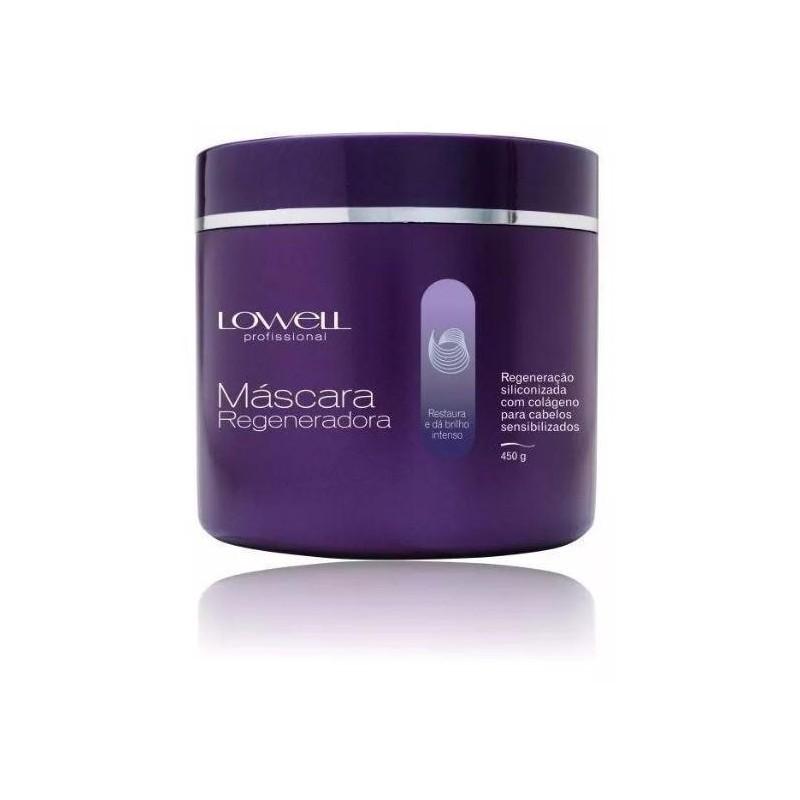Brazilian Collagen Siliconized Regeneration Hair Treatment Mask 450g - Lowell Beautecombeleza.com