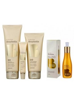 Bioplasty Reconstructor Home Care Hair Treatment Kit 4 Products - Lowell Beautecombeleza.com