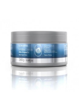 Brazilian Complex Care Hair Protection Treatment High Impact Mask 240g - Lowell Beautecombeleza.com