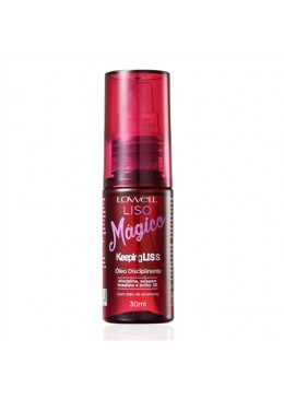 Keeping Liss Liso Mágico Perfect Smooth Disciplining Sealing Oil 30ml - Lowell Beautecombeleza.com