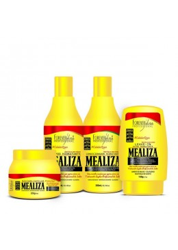 MeAliza Hair Treatment Kit 4 Products - Forever Liss Beautecombeleza.com