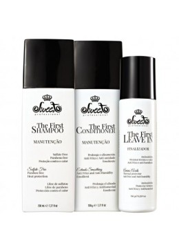 Smoothing Shampoo Home Care The First Maintenance Kit 3 Products - Sweet Beautecombeleza.com