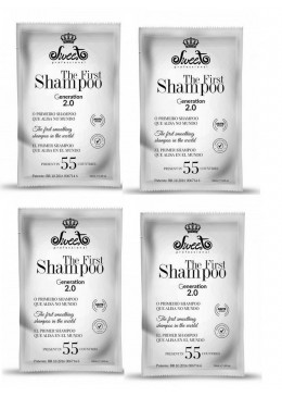 4 x 50ml Sachet of The First Shampoo Straightening (200ml total) - Sweet Beautecombeleza.com