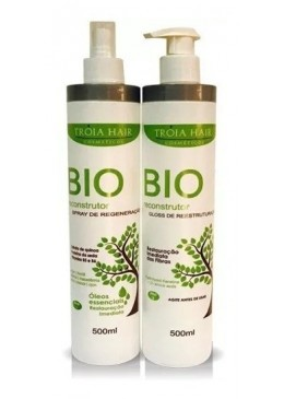 Bio Reconstructor Immediate Help Regeneration Hair Treatment 2x1L - Troia Hair Beautecombeleza.com