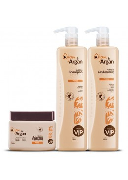 Ojon & Argan Treatment Kit 3 Products - VIP Beautecombeleza.com