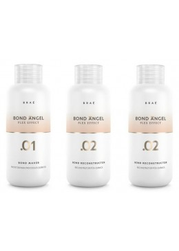KIT PLEX EFFECT BOND ANGEL  3x100 ml - BRAÉ  Beautecombeleza.com