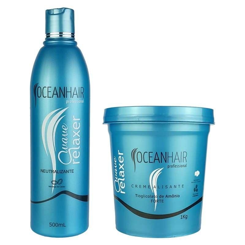 Wave Relaxer Ammonium Thioglycolate Kit 2 Products - Ocean Hair Beautecombeleza.com