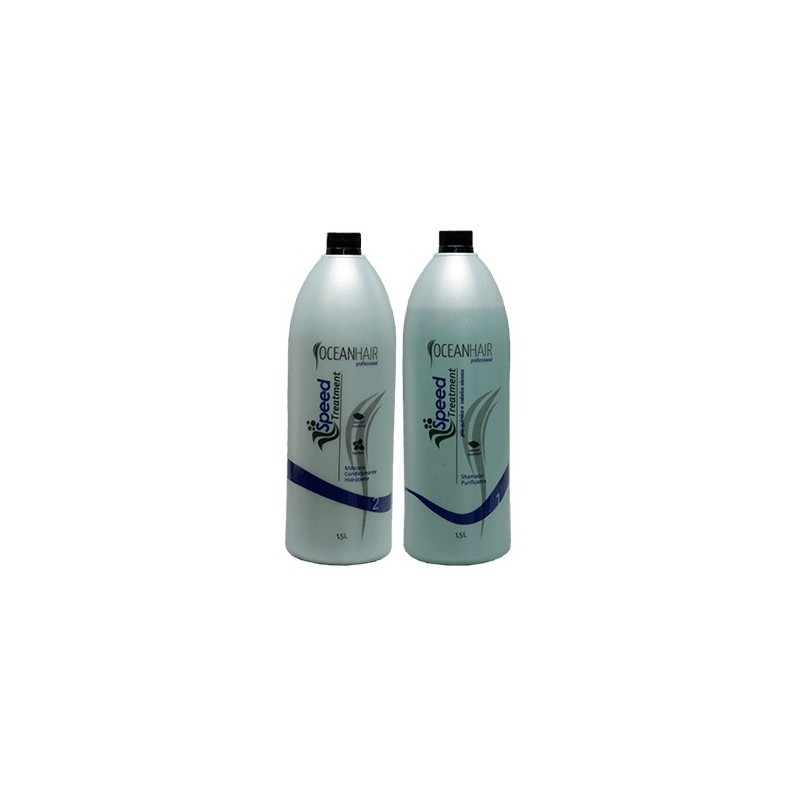 Post-Chemical Speed Treatment Kit 2x1500ml - Ocean Hair Beautecombeleza.com
