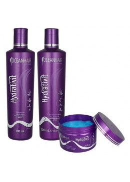 Hydrativit Home Care Kit 3 Products - Ocean Hair  Beautecombeleza.com