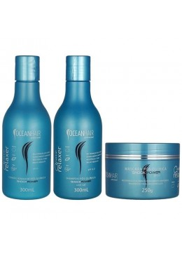 Wave Relaxer Home Care Maintenance Kit 3 Products - Ocean Hair Beautecombeleza.com