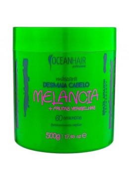 Máscara Desmaia Cabelo Melancia + Frutas Vermelhas 500g - Ocean hair Beautecombeleza.com