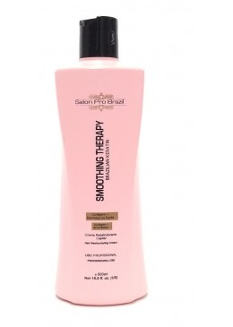 Smoothing Therapy Brazilian Keratin 500ml - Salon Pro Brazil Beautecombeleza.com