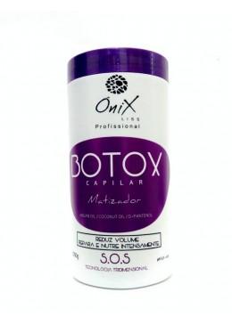 Botox Capilar Matizador Tratamento S.o.s 1kg - Ônix Liss Beautecombeleza.com