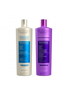 Kit Escova Select One + Escova Select Blond 2x1 L - Prohall Beautecombeleza.com