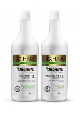 Organic Therapy Kit Shampoo + Tratamento Anti Volume 2X1L - G.hair Beautecombeleza.com