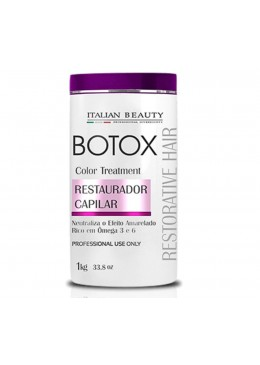 Botox Matizador Restorative Hair  (1kg) - Italian Beauty Beautecombeleza.com