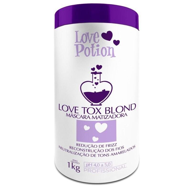 Love Tox Blond Botox Matizador 1kg - Love Potion  Beautecombeleza.com
