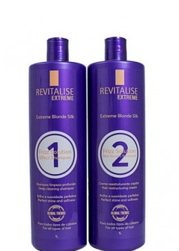 Blonde Silk Progressive Without Formaldehyde 2x1 Litro - Revitalise Extreme  Beautecombeleza.com