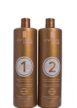 Progressiva Sem Formol Frizz Solution 2x1 l - Revitalise Extreme Beautecombeleza.com