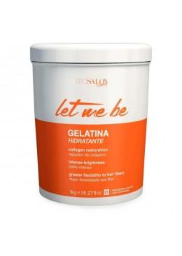 Let Me Be Gelatina Hidratante Capilar 1kg - Prosalon Beautecombeleza.com