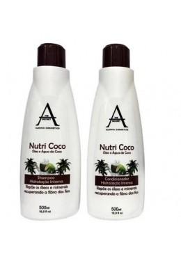 Professional Argan Coconut Extreme Moisturizing Kit Nutricoco 2x500ml - Alkimia Beautecombeleza.com