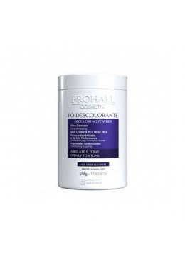 Ultra Hair Discoloration Dust Free Plex Bleaching Powder 9 Tones 500g - Prohall Beautecombeleza.com