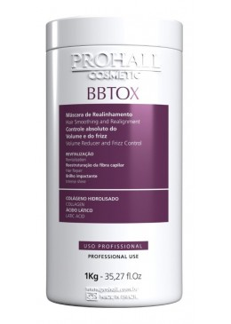 Capillary Bbtox Max Repair Absolute Volume and Frizz Control Mask 1Kg - Prohall Beautecombeleza.com