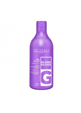 Pro Color Blond Gloss Tinting Mask Pearly Blonde Effect Mask 500ml - Prohall Beautecombeleza.com