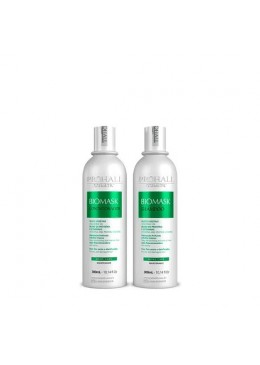 Biomask Maintenance Home Care Vegetable Oils Hair Treatment 2x300ml - Prohall  Beautecombeleza.com