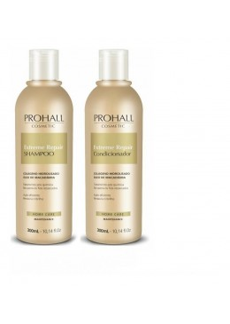 Extreme Repair Maintenance Collagen Macadamia Home Care Kit 2x300ml - Prohall Beautecombeleza.com