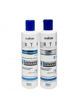 B.TX Orghanic Volume Reducer Formol Free Smooth 2x250ml - Plancton Professional  Beautecombeleza.com