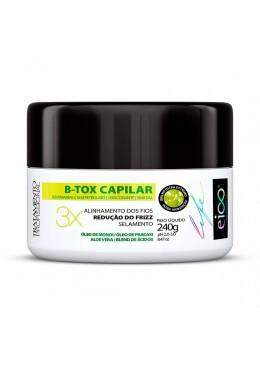 B-Tox Capillary Cream 240g - Eico Cosméticos Beautecombeleza.com