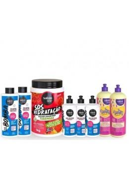 Professional Keratin Kit Curly Weak Brittle Hair Treatment 8 Prod. - Salon Line  Beautecombeleza.com