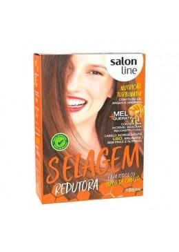 Defrizante Anti Frizz All Hair Types Sealing Reductor Treatment Kit - Salon Line Beautecombeleza.com