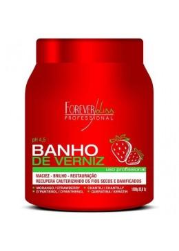 Ultra Concentrated Moisturizing Strawberry Varnish Bath Mask 1kg - Forever Liss
