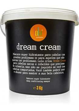 Dream Cream Deep Conditioning Super Moisturizing Mask 3Kg - Lola Cosmetics Beautecombeleza.com
