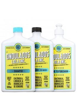 Daily Vegan Ondulados Wavy Hair Shine Treatment Kit 2x500 - Lola Cosmetics Beautecombeleza.com