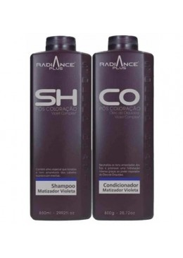 Post Coloring Violet Complex Radiance Plus Tinting Durability 2 Prod. - Soller Beautecombeleza.com