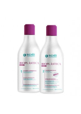 Brazilian Bioplasty Hair Cleaning Hydration Shine Treatment Kit 2x300ml - Richée Beautecombeleza.com