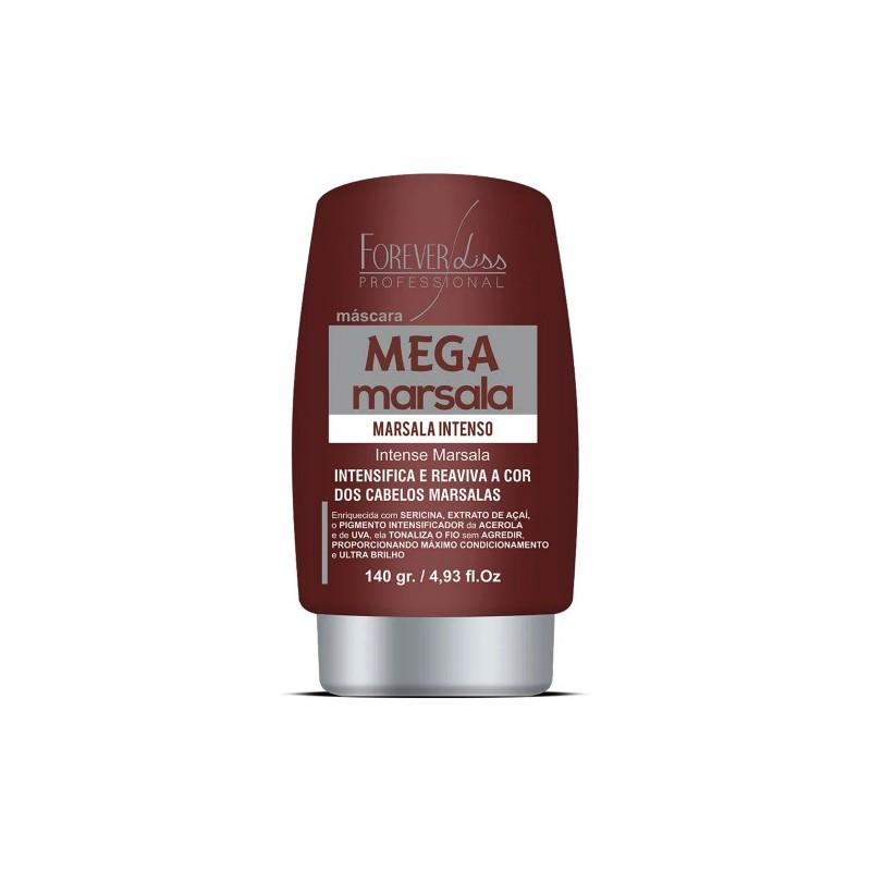Mega Marsala Intense Red Hair Treatment Tinting Moist Mask 140ml - Forever Liss Beautecombeleza.com