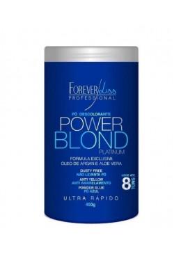 Poudre Décolorante  Power Blond Platinum  450g - Forever Liss