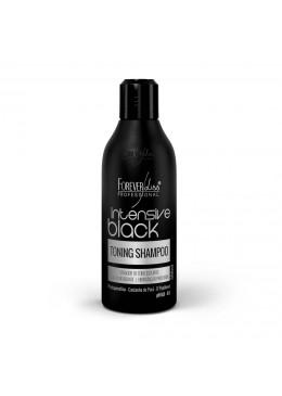 Dark Tones Activator Toning Hair Shampoo Intensive Black 300ml - Forever Liss Beautecombeleza.com