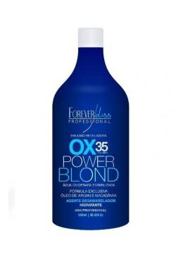 Eau Oxygénée en Émulsion Power Blond OX 35 Vol. 900ml - Forever Liss Beautecombeleza.com