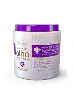 Deodorized Garlic Extract Power Strengthening Low Poo Mask 450g - Forever Liss Beautecombeleza.com