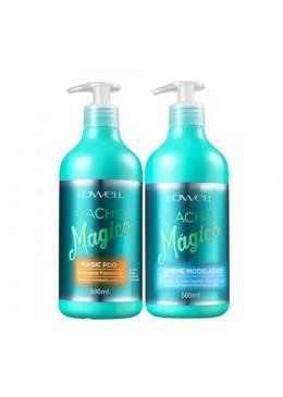 Kit Cacho Mágico Shampoo + Creme Modelador 2X500 ml - Lowell Beautecombeleza.com