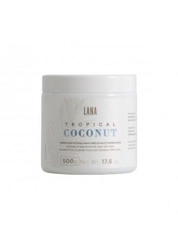 Tropical Coconut Hair Mask Intense Hydration for Very Dry Hair 500g- Lana Beautecombeleza.com