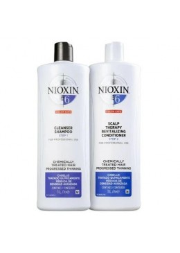 System 6 Salon Duo Kit 2x1000ml - Nioxin Beautecombeleza.com