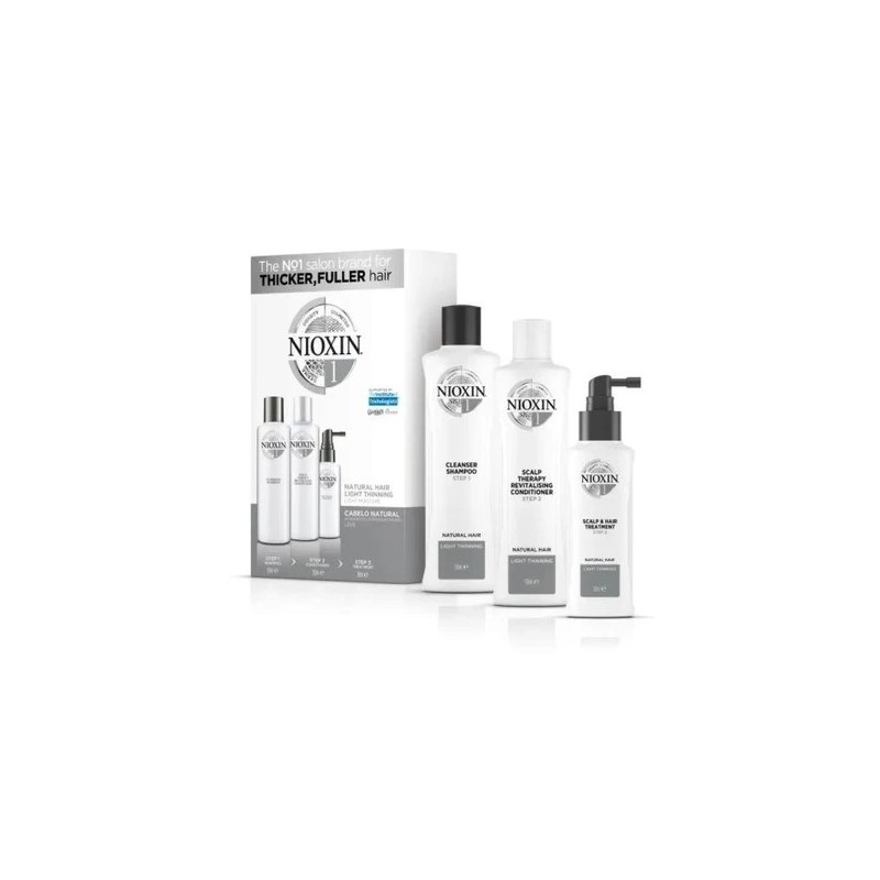 Natural Hair Light Tuning Thicker Fuller Therapy System 1 3 Products - Nioxin Beautecombeleza.com