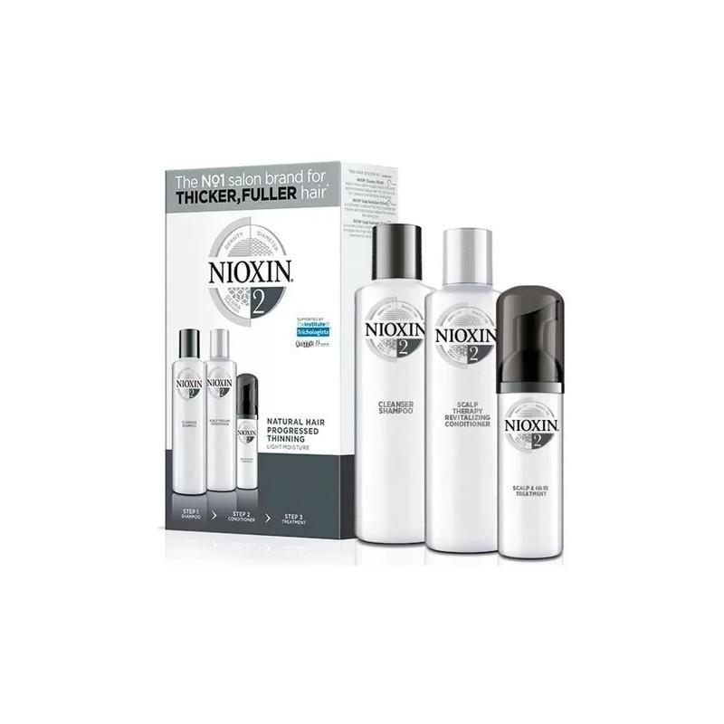 System 2 Natural Hair Advanced Tuning Scalp Therapy Treatment 3 Prod. - Nioxin Beautecombeleza.com